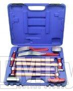 Набор инструментов рихтовочных для кузовных работ 9пр., в кейсе Rock FORCE RF-50719