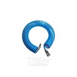 Шланг спиральный для воздуха  8х12мм 15м (PU) Prowin AA081215