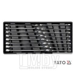 Набор рожково-накидных ключей 6-21мм в футляре (16пр.) Yato YT-5531
