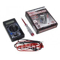 Набор диагностический для электрика (цифровой мультиметр, индикаторная отвертка) Forsage F-88463