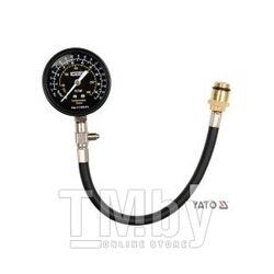 Компрессометр со шлангом для бенз. двигателей Yato YT-7301