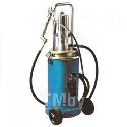 Пневматический перекатной нагнетатель смазки под закладку 17кг(50:1, производительность: 0-0.8 л/мин, давление смазки: 400bar) Forsage F-TRG2095