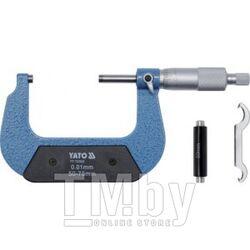 Микрометр 50-75мм Yato YT-72302