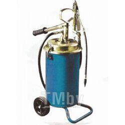 Ручной перекатной нагнетатель смазки под закладку 13кг(50:1, производительность: 0-0.75 л/мин, давление смазки: 300bar) Forsage F-TRG2096