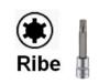 Головки-биты райб (RIBE)